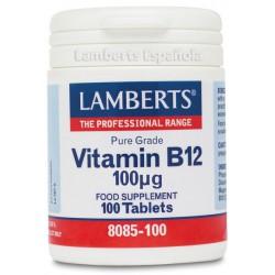 LAMBERTS VITAMINA B12 100MCG 100 COMPRIMIDOS