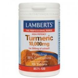 LAMBERTS CURCUMA TURMERIC 10.000MG 120CAPS