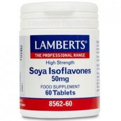 LAMBERTS ISOFLAVONAS DE SOJA 60COMPRIMIDOS