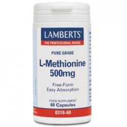 LAMBERTS L-METIONINA 500MG 60CAPSULAS