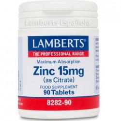 LAMBERTS ZINC CITRATO 50 MG 90 CAPS