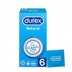 DUREX NATURAL 6 PRESERVATIVOS