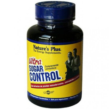NATURES PLUS ULTRA SUGAR CONTROL 60 TABLETAS