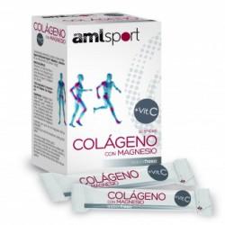 AMLSPORT COLAGENO Y MAGNESIO + VITAMINA C 20 STICKS