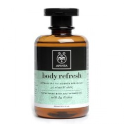 APIVITA BODY REFRESH GEL BAÑO REFRESCANTE HIGO ALOE 300ML