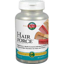SOLARAY KAL HAIR FORCE 60 CAPS VEGETARIANAS