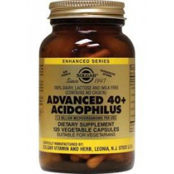 SOLGAR ADVANCED 40+ ACIDOPHILUS 120COMP