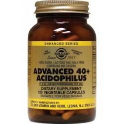 SOLGAR ACIDOPHILUS AVANZADO 40+ 120 CÁPSULAS