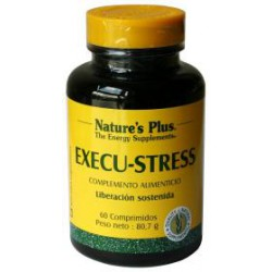 NATURES PLUS EXECU-STRESS 60 COMP