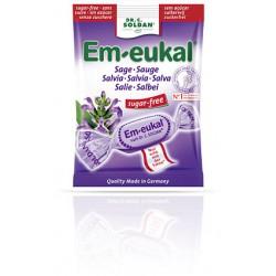 CARAMELOS EM-EUKAL SALVIA SIN AZÚCAR 50G