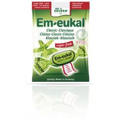 CARAMELOS EM-EUKAL CLASICO EUCALIPTO/MENTOL SIN AZÚCAR 50G