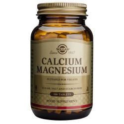 SOLGAR CALCIUM MAGNESIUM 100 TABLETAS