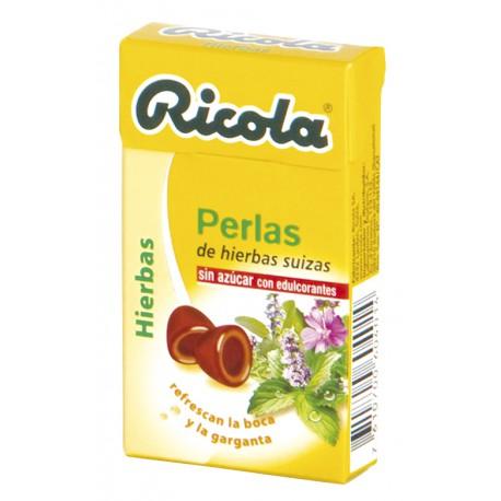 RICOLA PERLAS HIERBAS SIN AZUCAR