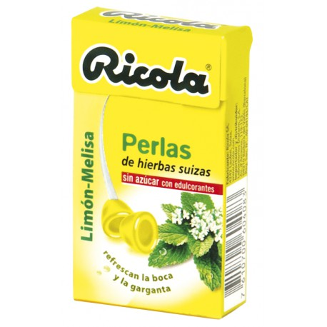 RICOLA PERLAS LIMON MELISA S AZUCA
