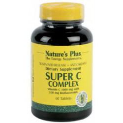 NATURES PLUS SUPER C COMPLEX 60COMP