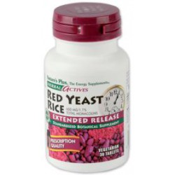 NATURE'S PLUS RED YEAST RICE - ARROZ DE LEVADURA ROJA 30 COMPRIMIDOS