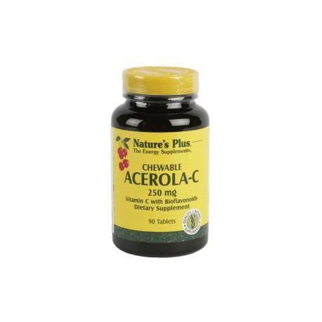 NATURES PLUS ACEROLA C 250MG 90COM