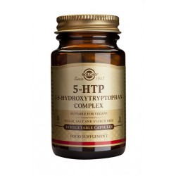 SOLGAR HIDROXITRIPTOFANO 5-HTP 30 CAPS