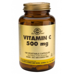 SOLGAR VITAMINA C 500MG100VEGICAP