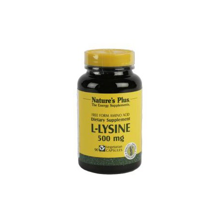 NATURES PLUS LISINA 500 MG 90 CAPS