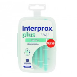 CEPILLO INTERPROX PLUS MICRO 10 U AHORRO