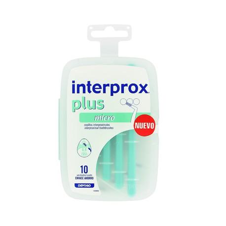 CEPILLO INTERPROX PLUS MICRO 10 U AHORRO