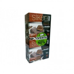 SIKEN DIET DUPLO BARRITA CHOCOLATE 5+5 UNIDADES