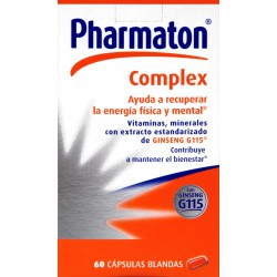PHARMATON COMPLEX PACK 60+30 CAPSULAS