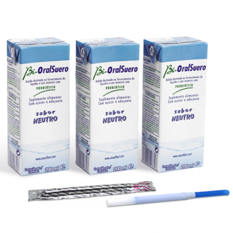 BIORALSUERO NEUTRO PACK 3 BRICK X 200ML