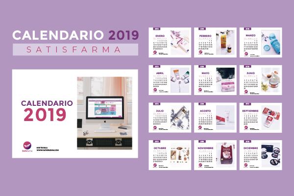 Calendario Din A4.Calendario Satisfarma Descargable