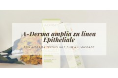 A-Derma amplía su línea Epitheliale con A-Derma Epitheliale Duo A.H Massage
